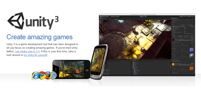 Unity 3D version Android et iOs gratuits !!!