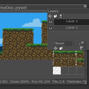 Pyxel Edit : Le pixel art et les tiles à portée de main