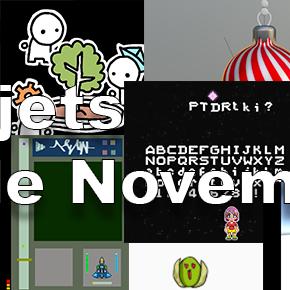 Créations de Novembre